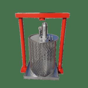 Hydraulic fruit press