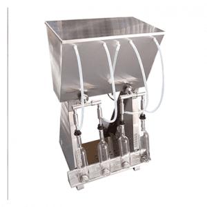 4 Head gravity feed bottling machine