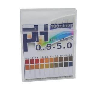 PH test strips 100 strips