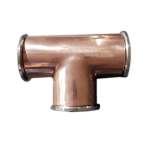 Copper 2 inch T section