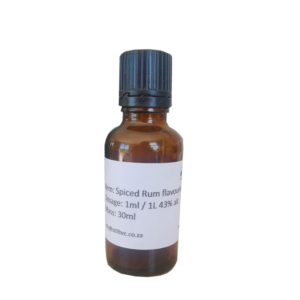 Spiced Rum Flavouring 30ml