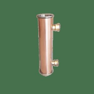 2 inch x 200mm copper reflux condenser